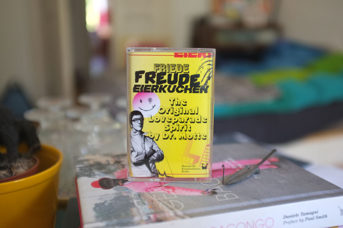 Mixtape Friede. Freude. Eierkuchen. The Original Loveparade Spirit by Dr. Motte